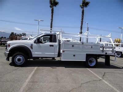 2021 Ford F-550 Regular Cab DRW 4x2, Scelzi CTFB Contractor Body #FM2308 - photo 3