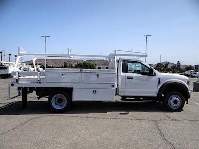 2021 Ford F-550 Regular Cab DRW 4x2, Scelzi CTFB Contractor Body #FM2308 - photo 5