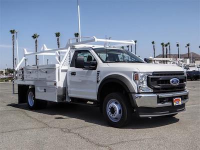 2021 Ford F-550 Regular Cab DRW 4x2, Scelzi CTFB Contractor Body #FM2308 - photo 6