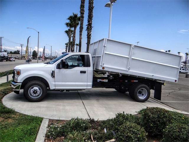 2021 Ford F-350 Regular Cab DRW 4x2, Scelzi Landscape Dump #FM2334 - photo 3