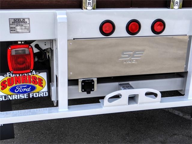 2021 Ford F-450 Regular Cab DRW 4x2, Scelzi WFB Stake Bed #FM2376 - photo 11