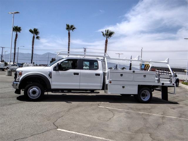 2021 Ford F-450 Crew Cab DRW 4x2, Scelzi CTFB Contractor Body #FM2377 - photo 3