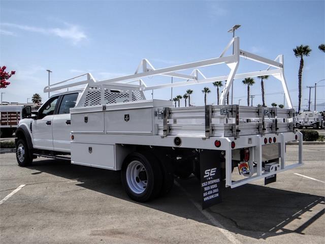 2021 Ford F-450 Crew Cab DRW 4x2, Scelzi Contractor Body #FM2377 - photo 1