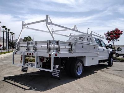 2021 Ford F-450 Crew Cab DRW 4x2, Scelzi CTFB Contractor Body #FM2377 - photo 4