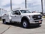 2021 Ford F-450 Crew Cab DRW 4x2, Scelzi CTFB Contractor Body #FM2377 - photo 6