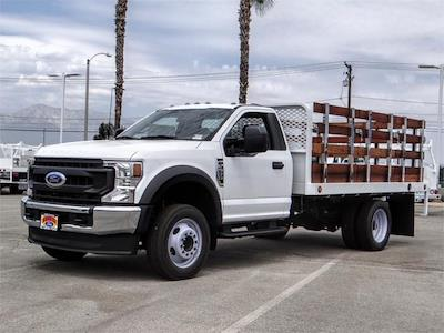 2021 Ford F-550, Scelzi Stake Bed