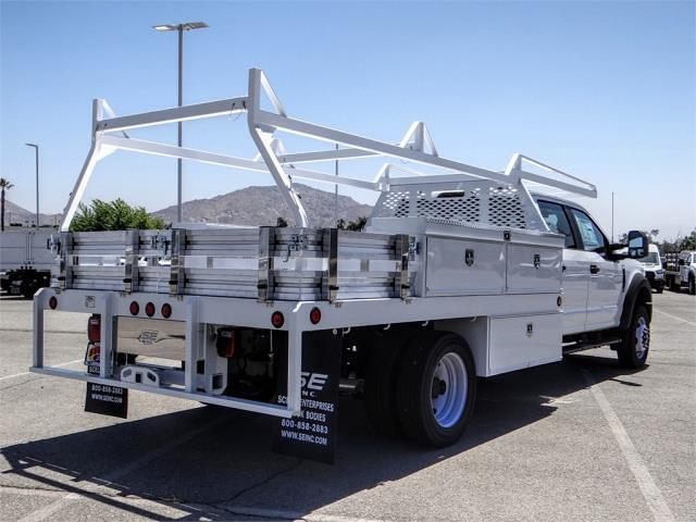 2021 F-550 Crew Cab DRW 4x2,  Scelzi CTFB Contractor Body #FM2489 - photo 4