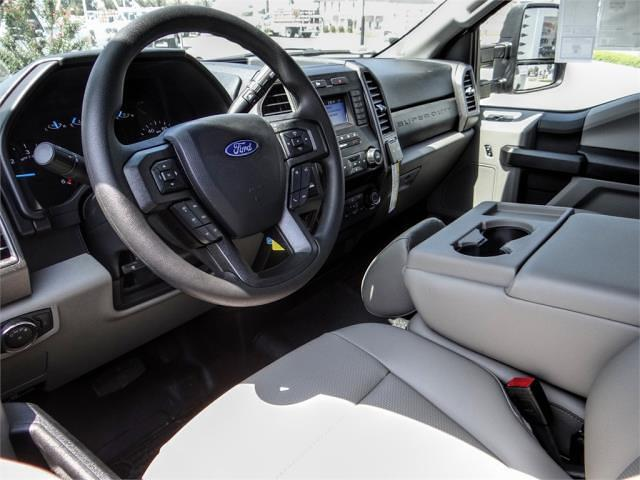 2021 F-550 Regular Cab DRW 4x2,  Scelzi WFB Platform Body #FM2649 - photo 8