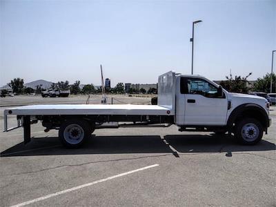 2021 F-550 Regular Cab DRW 4x2,  Scelzi WFB Platform Body #FM2649 - photo 5