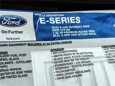 2022 Ford E-450 4x2, Marathon Aluminum High Cube Cutaway Van #FN0000 - photo 11