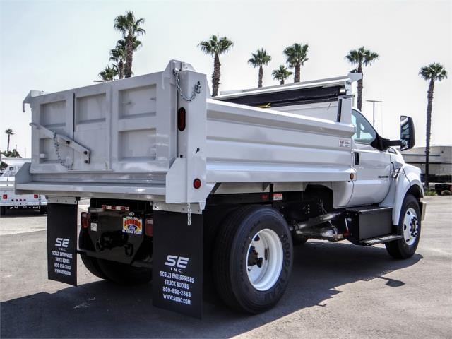 2022 F-650 Regular Cab DRW 4x2,  Scelzi Dump Body #FN0047 - photo 4