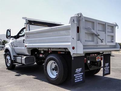 2022 F-650 Regular Cab DRW 4x2,  Scelzi Dump Body #FN0054 - photo 2