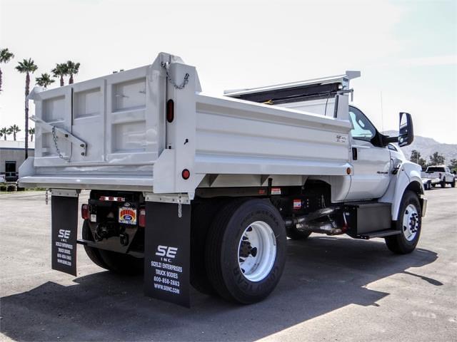 2022 F-650 Regular Cab DRW 4x2,  Scelzi Dump Body #FN0069 - photo 4