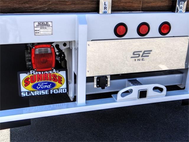 2022 F-550 Regular Cab DRW 4x2,  Scelzi WFB Stake Bed #FN0108 - photo 10