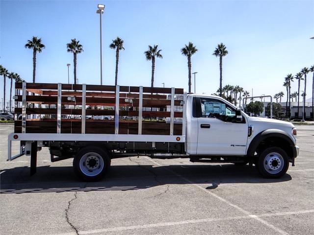 2022 F-550 Regular Cab DRW 4x2,  Scelzi WFB Stake Bed #FN0108 - photo 5
