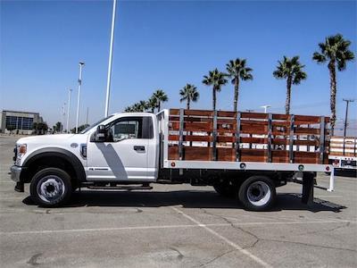 2022 F-550 Regular Cab DRW 4x2,  Scelzi WFB Stake Bed #FN0108 - photo 3