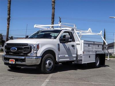 2022 F-350 Regular Cab DRW 4x2,  Scelzi CTFB Contractor Body #FN0204 - photo 1