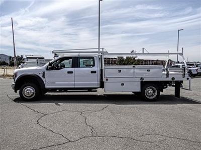 2018 F-450 Crew Cab DRW 4x2,  Scelzi CTFB Contractor Body #fj4966dt - photo 3