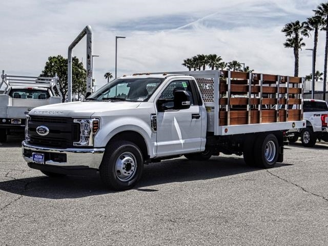 2019 F-350 Regular Cab DRW 4x2,  Royal Stake Bed #fk3161dt - photo 1