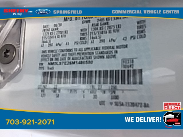 2021 Ford Transit Connect, Empty Cargo Van #G486580 - photo 20