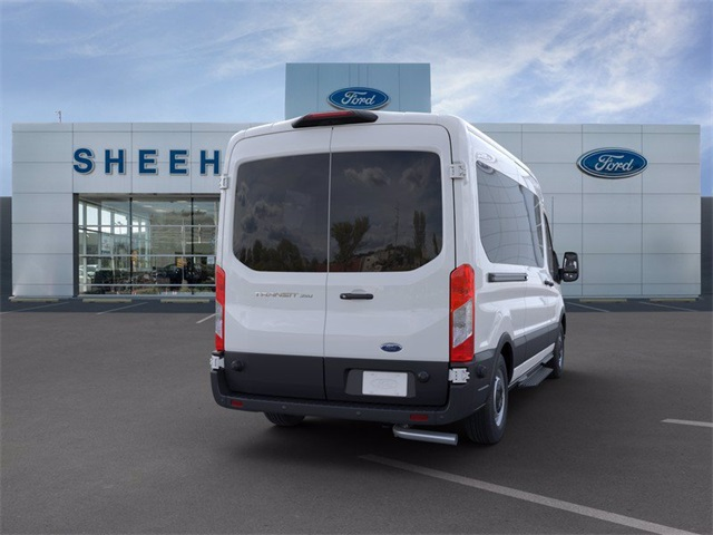 2020 Transit 350 Med Roof RWD, Passenger Wagon #GA03419 - photo 8
