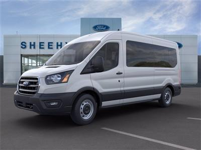 2020 Transit 350 Med Roof RWD, Passenger Wagon #GA03419 - photo 2