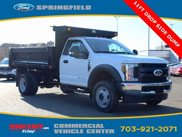 2019 F-550 Regular Cab DRW 4x4,  Godwin 184U Dump Body #GA08848 - photo 1