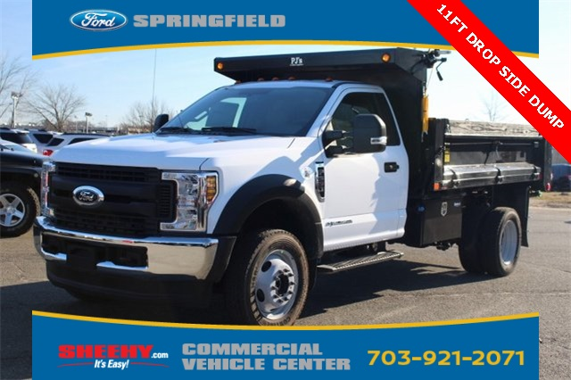 2019 F-550 Regular Cab DRW 4x4,  Godwin 184U Dump Body #GA08848 - photo 5