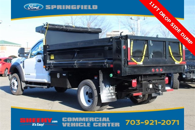 2019 F-550 Regular Cab DRW 4x4,  Godwin 184U Dump Body #GA08848 - photo 6