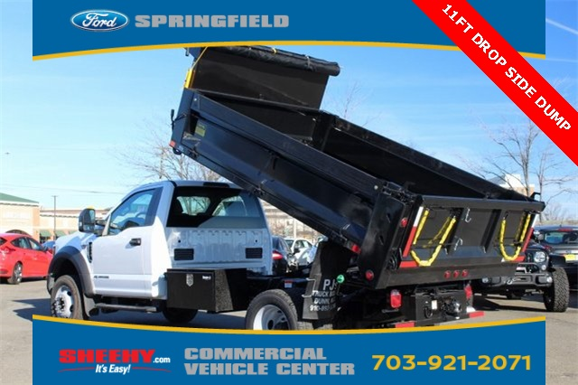 2019 F-550 Regular Cab DRW 4x4,  Godwin 184U Dump Body #GA08848 - photo 8
