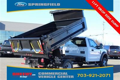 2019 F-550 Regular Cab DRW 4x4,  Godwin 184U Dump Body #GA08848 - photo 10