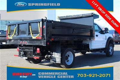 2019 F-550 Regular Cab DRW 4x4,  Godwin 184U Dump Body #GA08848 - photo 2