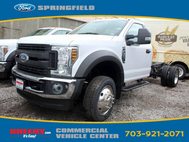 2019 F-550 Regular Cab DRW 4x4,  Cab Chassis #GA12203 - photo 1