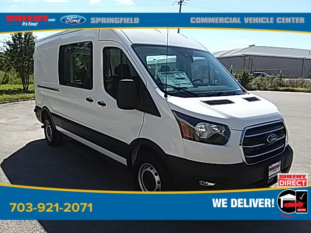 2020 Ford Transit 250 Med Roof RWD, Crew Van #GA12981 - photo 1