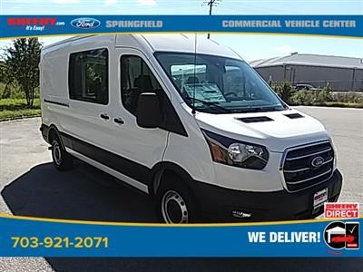 2020 Ford Transit 250 Med Roof 4x2, Crew Van #GA12981 - photo 1