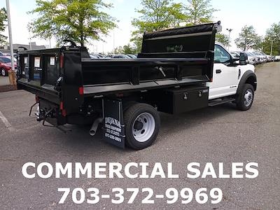 2020 Ford F-550 Regular Cab DRW 4x4, Rugby Eliminator LP Steel Dump Body #GA13961 - photo 2
