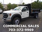 2020 Ford F-550 Regular Cab DRW 4x4, Rugby Eliminator LP Steel Dump Body #GA13961 - photo 4