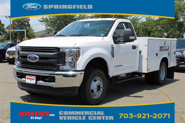 2019 F-350 Regular Cab DRW 4x4,  Reading Classic II Steel Service Body #GA19438 - photo 3