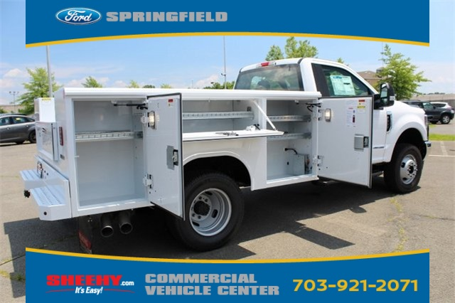 2019 F-350 Regular Cab DRW 4x4,  Reading Classic II Steel Service Body #GA19438 - photo 6