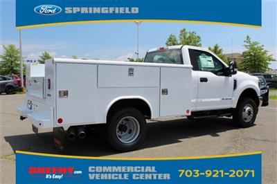 2019 F-350 Regular Cab DRW 4x4,  Reading Classic II Steel Service Body #GA19438 - photo 2
