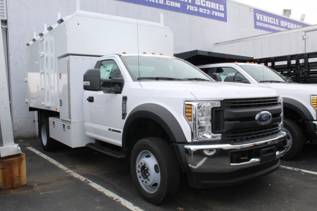 2019 F-550 Regular Cab DRW 4x4, PJ's Chipper Body #GA27460 - photo 1
