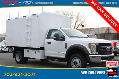 2019 F-550 Regular Cab DRW 4x4, PJ's Chipper Body #GA27464 - photo 3