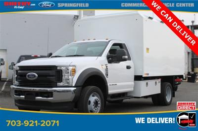 2019 F-550 Regular Cab DRW 4x4, PJ's Chipper Body #GA27464 - photo 1