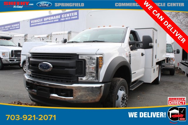 2019 Ford F-550 Regular Cab DRW 4x4, PJ's Chipper Body #GA27465 - photo 1