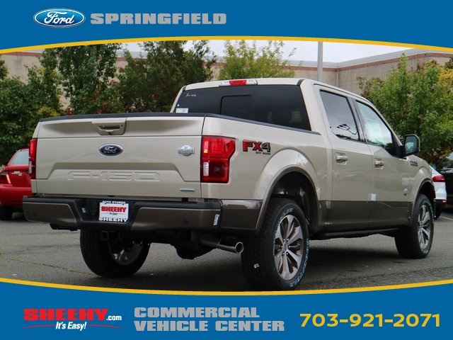 2018 F-150 SuperCrew Cab 4x4, Pickup #GA57686 - photo 4