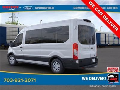 2020 Transit 350 Med Roof RWD, Passenger Wagon #GA58844 - photo 2