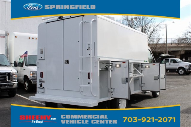 2019 Transit 350 HD DRW 4x2,  Reading Aluminum CSV Service Utility Van #GA67039 - photo 9