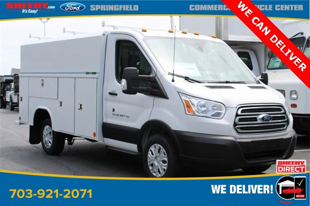 2019 Transit 350 4x2, Reading Aluminum CSV Service Utility Van #GA67102 - photo 1