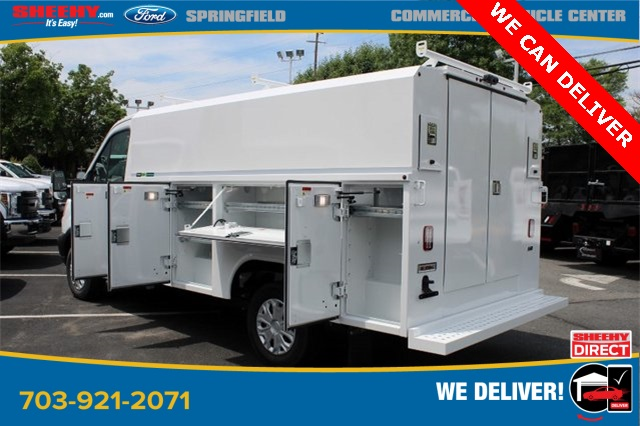 2019 Transit 350 4x2, Reading Aluminum CSV Service Utility Van #GA67102 - photo 7