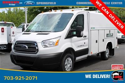 2019 Transit 350 4x2, Reading Aluminum CSV Service Utility Van #GA67102 - photo 4